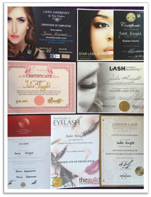Julie-Knight-Certificates-1