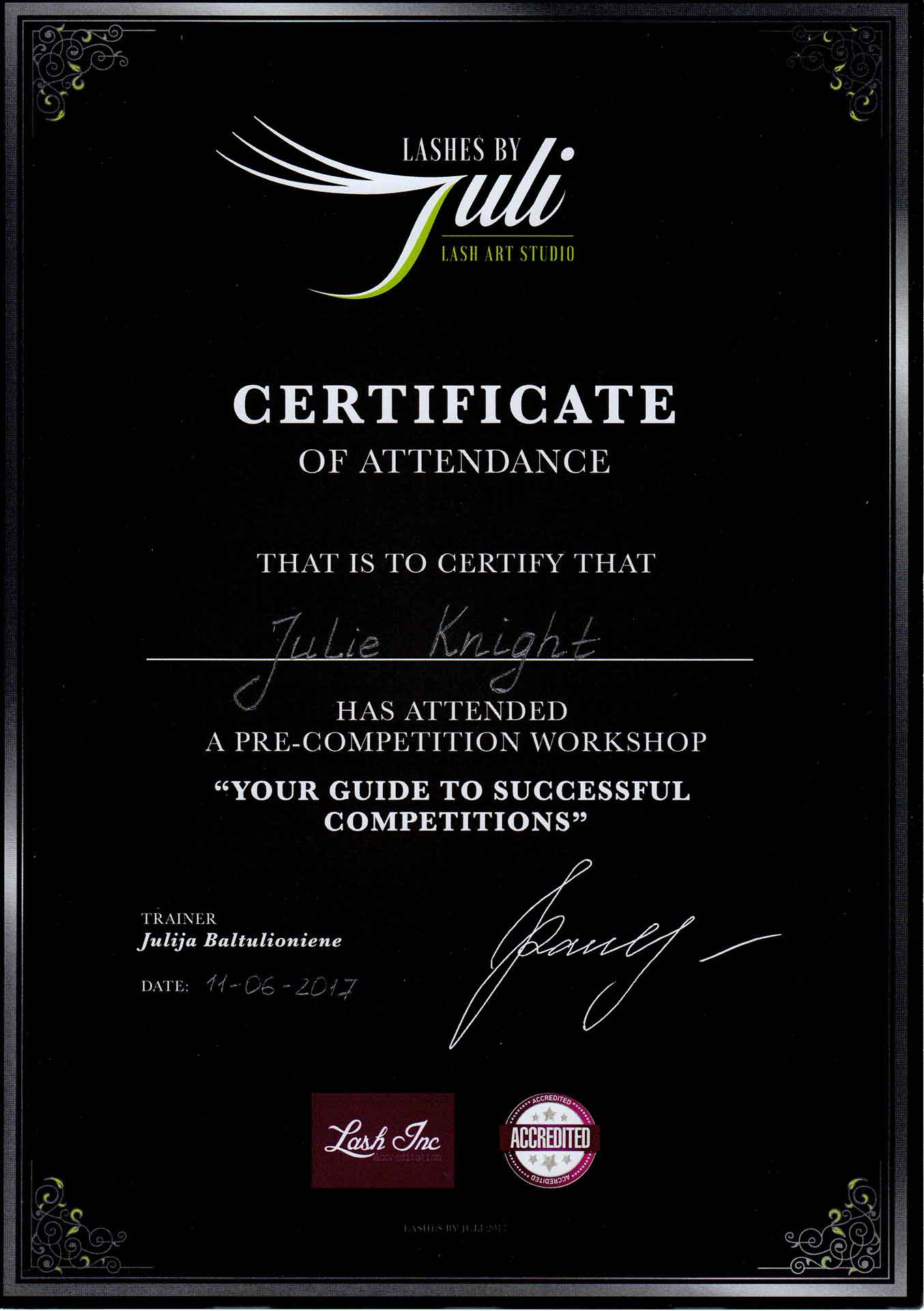 Julie-Knight-Lashes-By-Juli-Competition-Training-Certificate